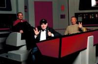 DSTE: Fanda, Walter Koenig a George Takei na TOS můstku :-)