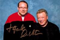 DSTE: Fanda a kapitán Kirk, autogram