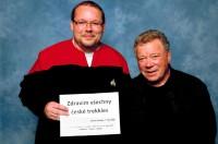 DSTE: Fanda a kapitán Kirk, pozdrav všem českým trekkies :-)
