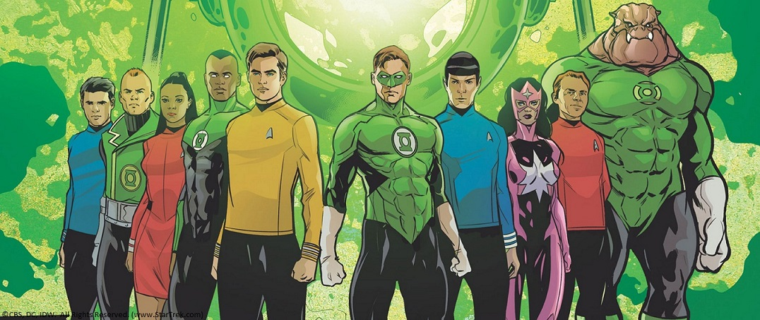 Star Trek a Green Lantern